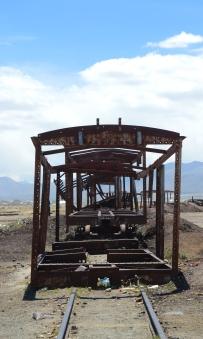 Cementerio de trenes, Salar de Uyuni
