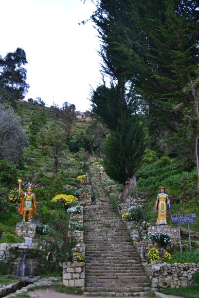 Escalera del Inca
