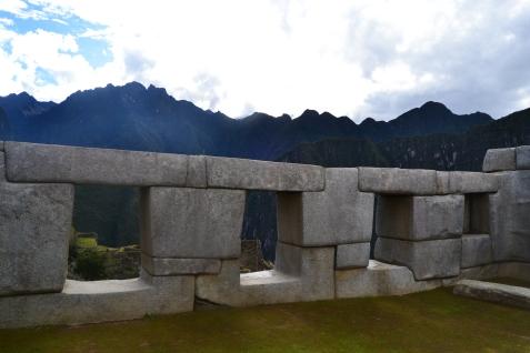 Las tres ventanas, Machu Picchu