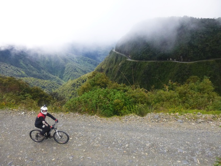 Ruta de la muerte – La Paz,Bolivia