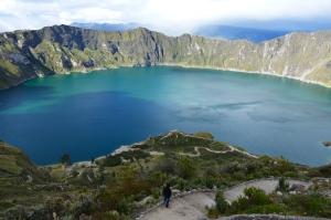Lago cráter Quilotoa