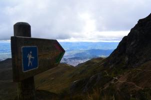 Subida al Cucu Pichincha
