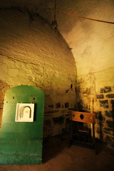 Sala de Tortura. Castillo de la Buena Esperanza